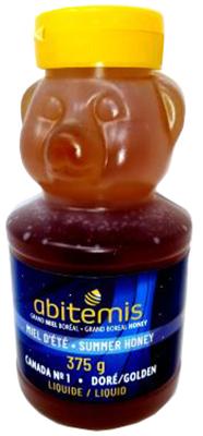 C86 : Abitemis C86 : Lunch and snacks - Honey - Teddy Bears Honey ABITEMIS, TEDDY BEARS HONEY,12X375g