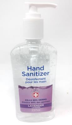 CA8760 : Hand sanitizer CA8760 : Hygiene and Health - Soaps and shower gels - Hand Sanitizer Lavender (pump) HAND SANITIZER, hand sanitizer LAVENDER (pump), 24 x 237 ML