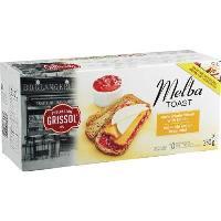 CB387 : Melba Toast Whole Wheat