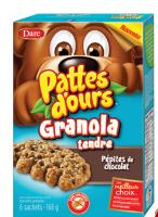 CB963 : Bear Pows Soft Granola Choc. Chip