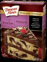 CG00233 : Fudge Marble Layer Cake. 12 X 515 G