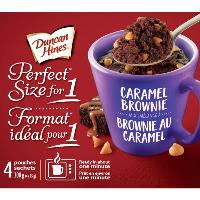 CG8542 : Caramel Brownie Cake Mix Cup