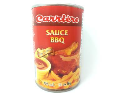 CH531 : Carriere CH531 : Condiments - Sauce - B.b.q. Sauce CARRIERE,B.B.Q. SAUCE,24 x 398 ML