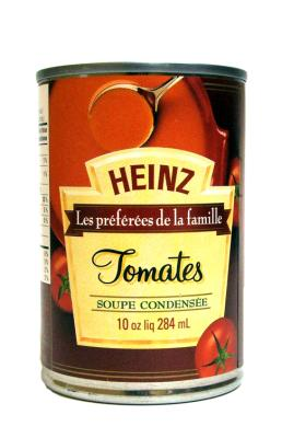 CS0002 : Heinz CS0002 : Preserves and jars - Soups - Tomato Soup HEINZ, TOMATO SOUP, 24X284ML
