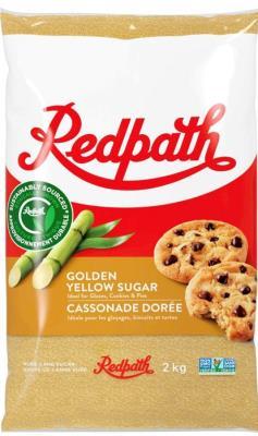 CS213 : Redpath CS213 : Cooking Ingredients - Brown sugar - Golden Yellow Sugar REDPATH,GOLDEN YELLOW SUGAR,10 x 2 KG