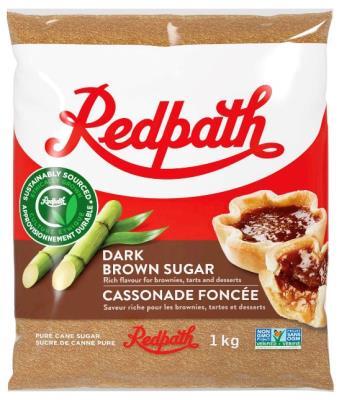 CS214 : Redpath CS214 : Cooking Ingredients - Brown sugar - Dark Brown Sugar REDPATH, DARK BROWN SUGAR, 20 x 1 KG