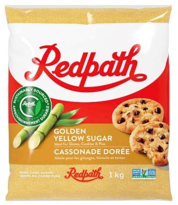 CS215 : Redpath CS215 : Cooking Ingredients - Brown sugar - Golden Yellow Sugar REDPATH, GOLDEN YELLOW SUGAR, 20X1KG