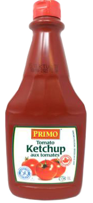 CT39 : CT39 : Condiments - Ketchup - Squeezable Ketchup PRIMO, SQUEEZABLE KETCHUP, 12 x 1 L
