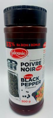 E79 : E79 : Condiments - Pepper - Pepper Prepar. JALOUSIE, PEPPER PREPAR., 12X300g