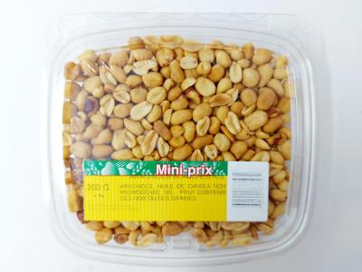G0027 : Mini-prix G0027 : Nuts and Seeds - Peanuts - White Peanut (pans) MINI-PRIX, WHITE PEANUT (PANS) ,12X300g