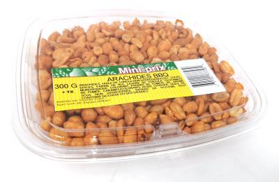 G0029 : Mini-prix G0029 : Nuts and Seeds - Peanuts - Bbq Peanut (pans) MINI-PRIX, BBQ PEANUT (PANS), 12 x 300g
